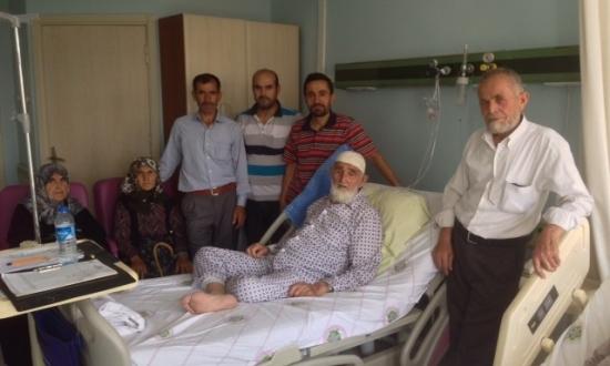 abdullah dayıyı ziyaret ettik<br><span class='mansetaltyazi'>hastanede tedavisi devam ediyor</span>