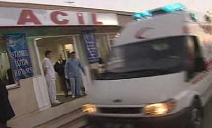 nurettin yarar'ın oğlu mustafa trafik kazası yaptı<br><span class='mansetaltyazi'>eğitim araştırma hastanesi yoğun bakımda tedavi görüyor</span>